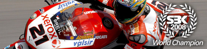 DUCATI SBK World Champion 2008.